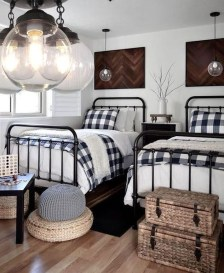 Vintage Shared Rooms Decor Ideas For Teen Boy44