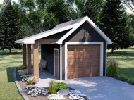 Astonishing House Design Ideas With With Car Garage22