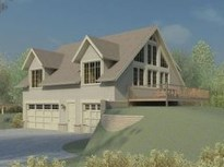 Astonishing House Design Ideas With With Car Garage39