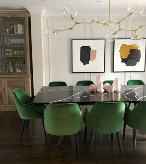 Best Minimalist Dining Room Design Ideas For Dinner With Your Family18