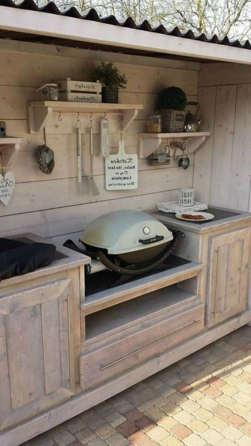 Brilliant Outdoor Kitchen Design Ideas For You Nowaday19
