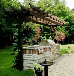 Brilliant Outdoor Kitchen Design Ideas For You Nowaday38