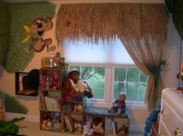 Charming Kids Bedroom Ideas With Jungle Theme To Try06