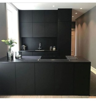 Elegant Black Kitchen Design Ideas You Need To Try16