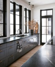 Elegant Black Kitchen Design Ideas You Need To Try17