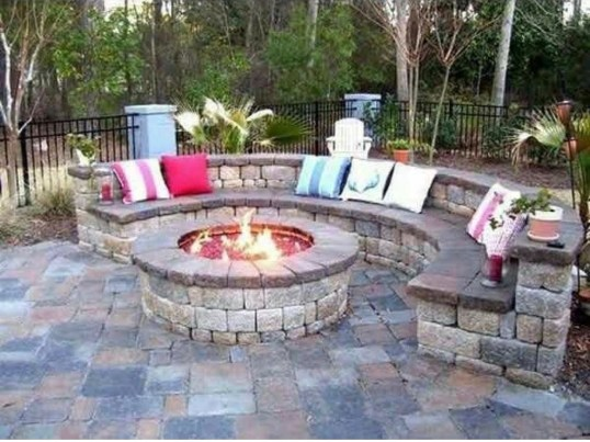 Extraordinary Diy Firepit Ideas For Your Outdoor Space28