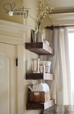 Modern Bathroom Floating Shelves Design Ideas For You21
