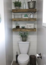 Modern Bathroom Floating Shelves Design Ideas For You25