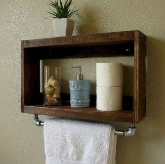 Modern Bathroom Floating Shelves Design Ideas For You34