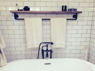 Modern Bathroom Floating Shelves Design Ideas For You40