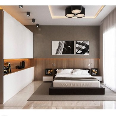 Unordinary Ceiling Design Ideas For Your Bedroom39