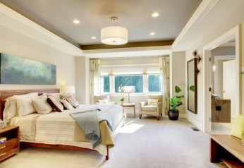 Unordinary Ceiling Design Ideas For Your Bedroom48