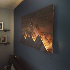 Attractive Lighting Wall Art Ideas For Your Home This Season14