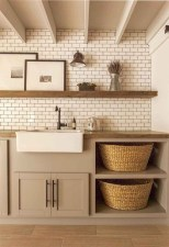 Cute Laundry Room Storage Shelves Ideas To Consider02