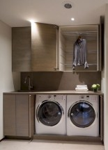 Cute Laundry Room Storage Shelves Ideas To Consider36