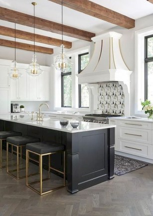 Incredible Black And White Kitchen Ideas To Try40