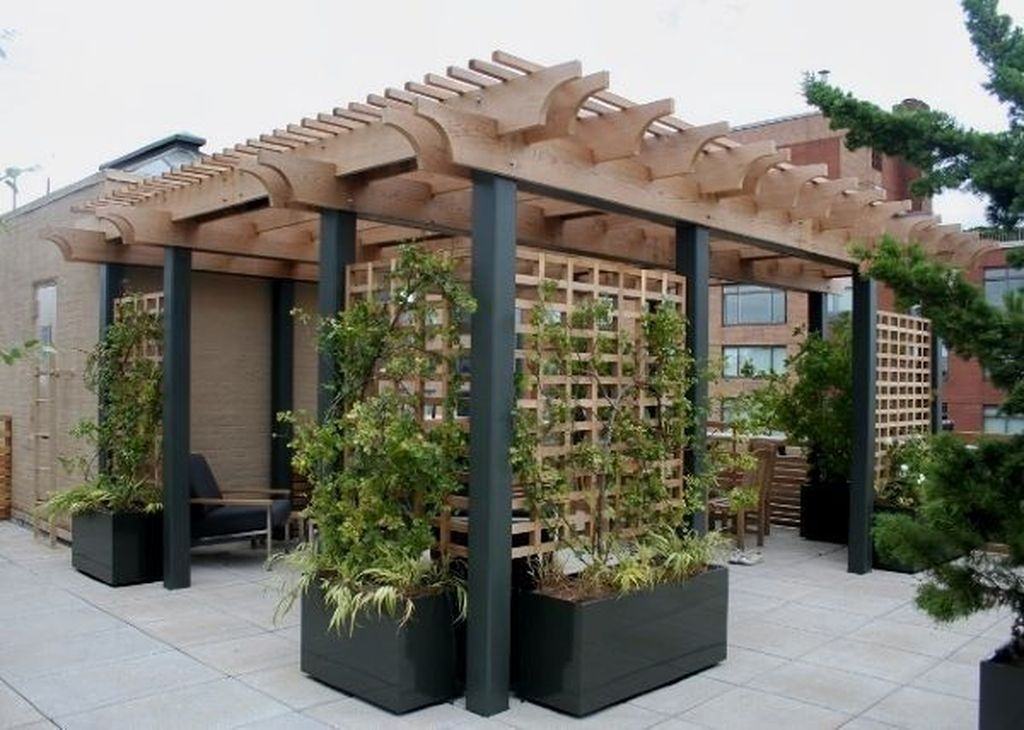 Pretty Privacy Fence Planter Boxes Ideas To Try05