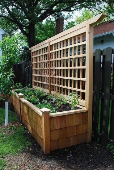 Pretty Privacy Fence Planter Boxes Ideas To Try07
