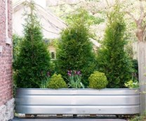 Pretty Privacy Fence Planter Boxes Ideas To Try23