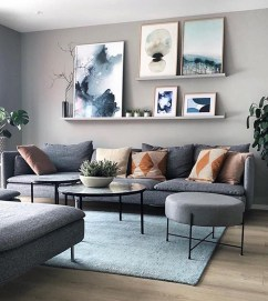 Attractive Living Room Wall Decor Ideas To Copy Asap41