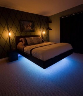 Casual Contemporary Floating Bed Design Ideas For You02