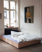 Casual Contemporary Floating Bed Design Ideas For You21