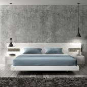 Casual Contemporary Floating Bed Design Ideas For You28