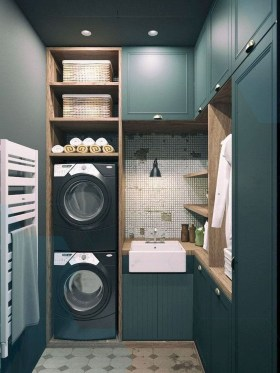 Charming Small Laundry Room Design Ideas For You24