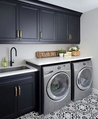 Charming Small Laundry Room Design Ideas For You28