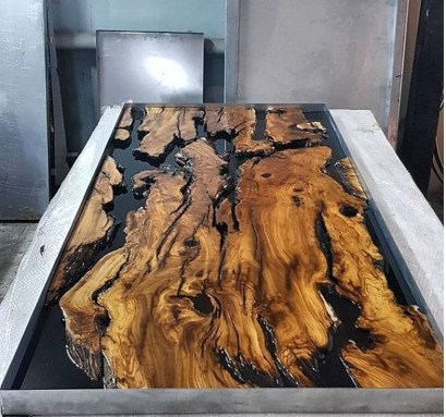 Classy Resin Wood Table Ideas For Your Furniture36