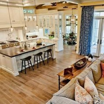 Extraordinary Big Open Kitchen Ideas For Your Home12