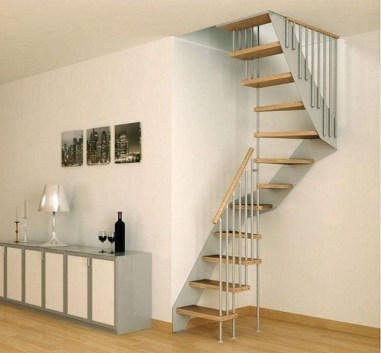 Incredible Stairs Design Ideas For The Attic To Try30