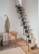 Incredible Stairs Design Ideas For The Attic To Try33
