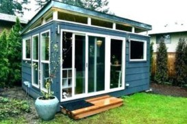 Incredible Studio Shed Designs Ideas For Your Backyard24
