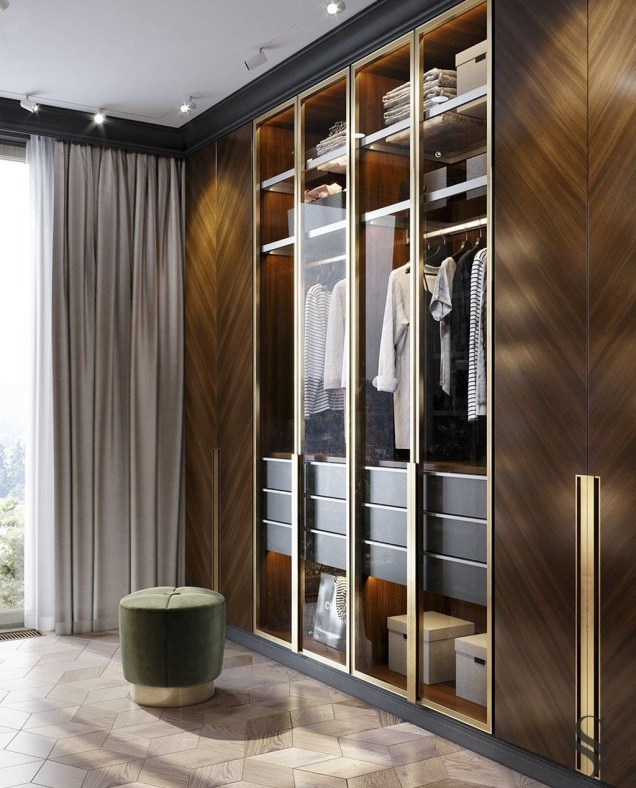 Spectacular Wardrobe Designs Ideas To Store Your Clothes In35