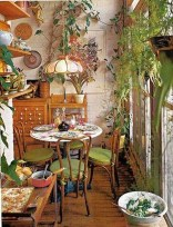 Unordinary Dining Room Design Ideas With Bohemian Style30