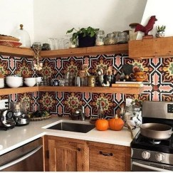Unusual Bohemian Kitchen Decorations Ideas To Try08