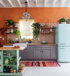 Unusual Bohemian Kitchen Decorations Ideas To Try23