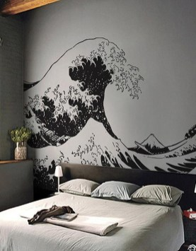 Vintage Bedroom Wall Decals Design Ideas To Try13