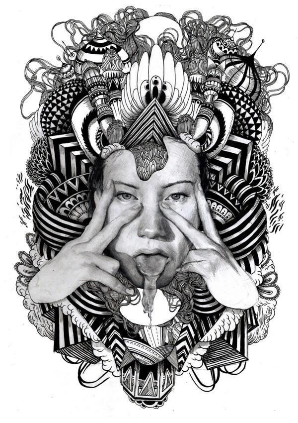 Iain Macarthur Illustrator TRENDHUSTLER