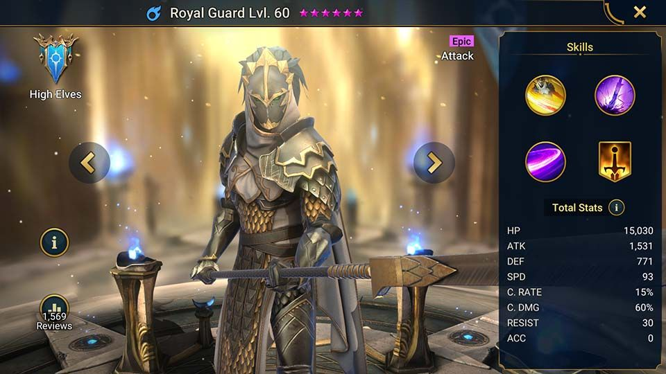 GUIA GUARDIA REAL (ROYAL GUARD GUIDE)