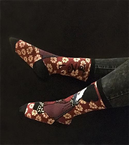 Rihanna Fenty Geisha Socks | Trending In