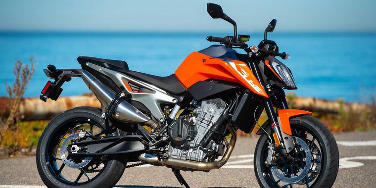DUKE ROAD TEST REVIEW 2020 KTM 790.