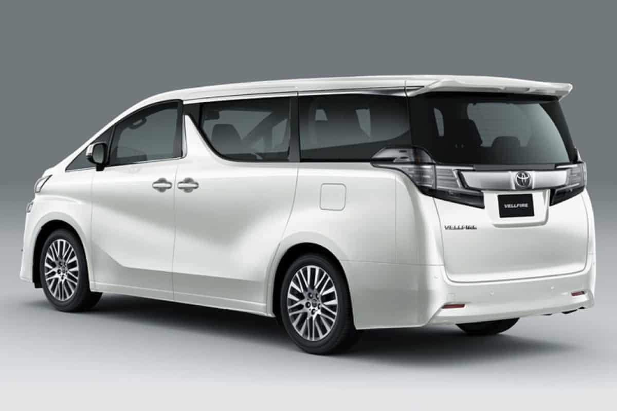 In February, details to get started Toyota Vellfire