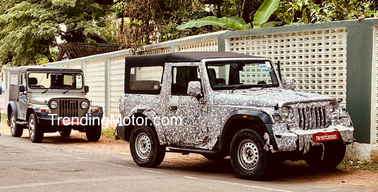 MAHINDRA THAR-THE CAR TO WATCH OUT FOR