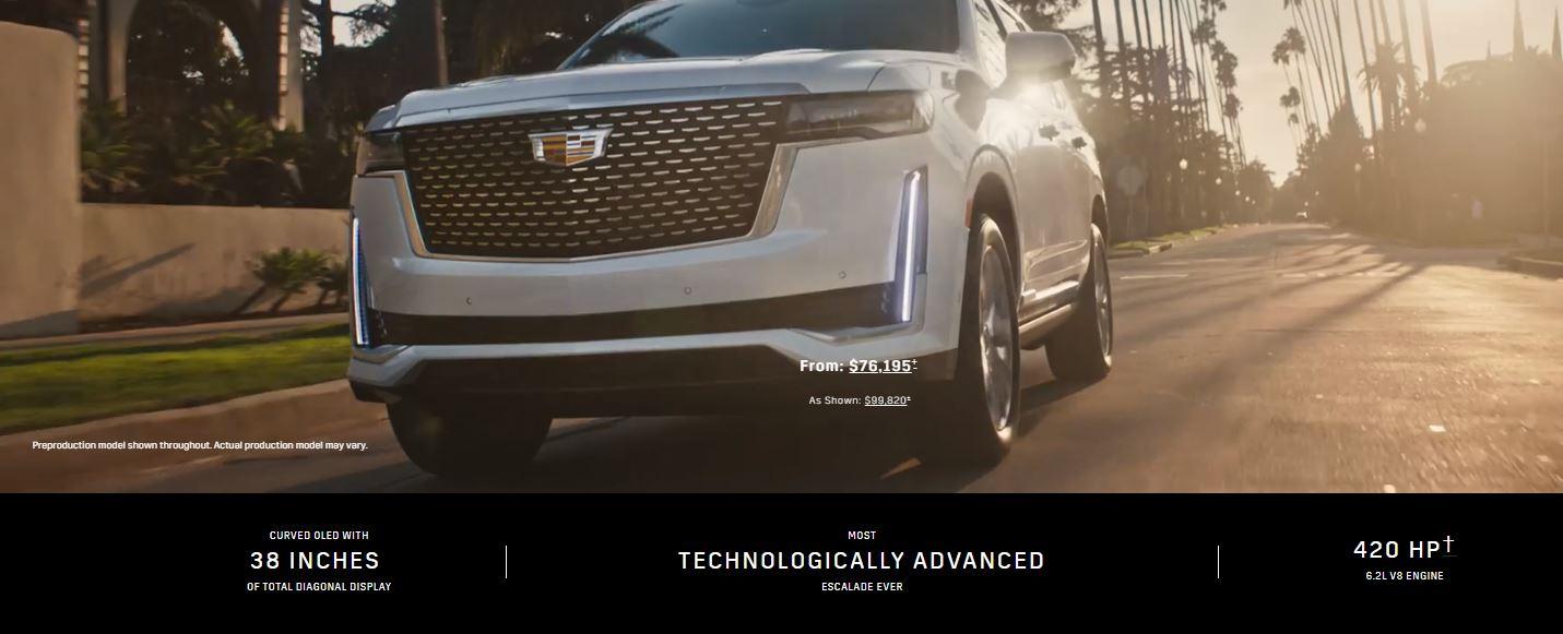 Cadillac Escalade 2021- TrendingMotor