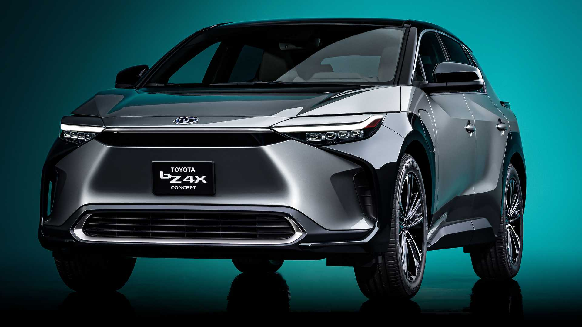 Toyota Launches The Electric bZ4X Concept