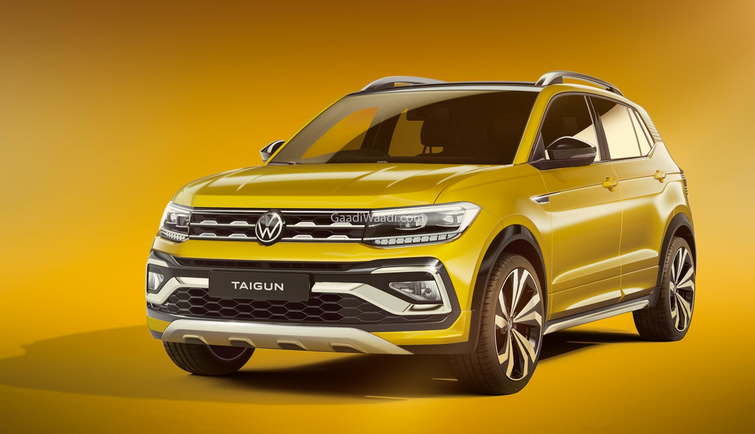 The Volkswagen Taigun GT features a sportier design and a 1.5L turbocharged engine