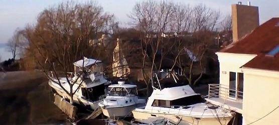 Hurricane Sandy Home Damage