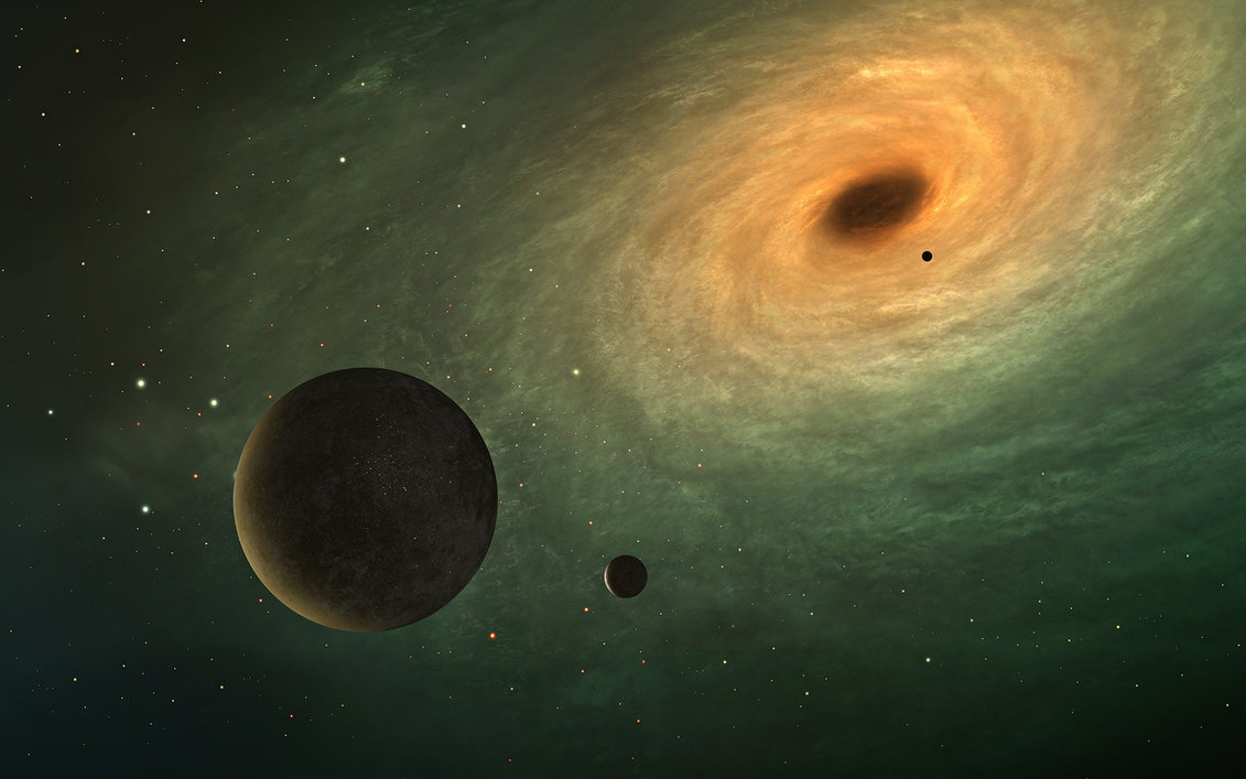 black holes vs solar system - photo #23